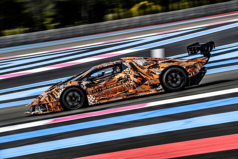 Lamborghini readies new track-only, 830-hp hypercar