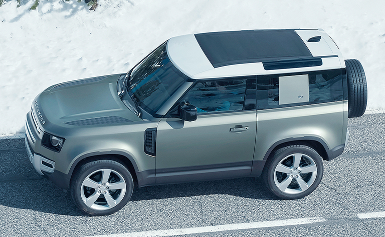 Land Rover dealers at long last get their Defender