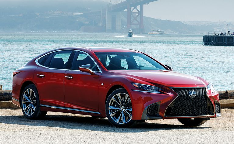Lexus holds on with makeovers and hybrids