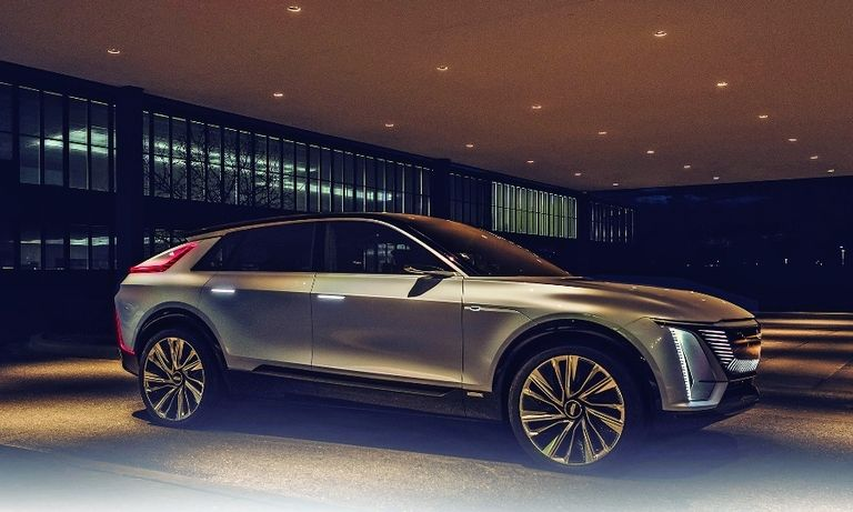Cadillac's first electric vehicle, the Lyriq crossover, is due in 2022.