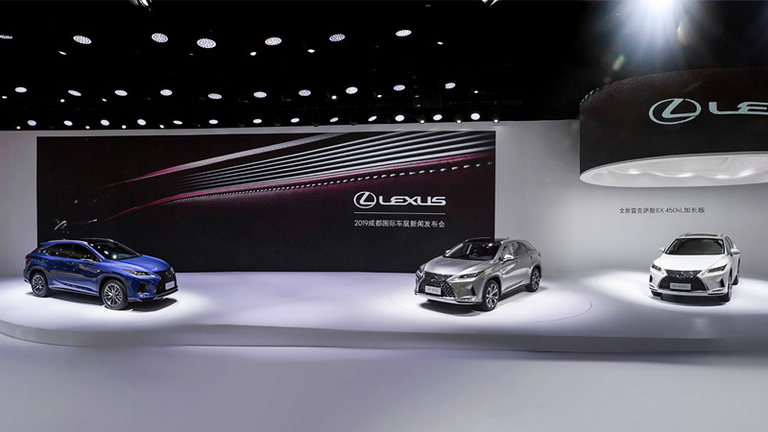 Lexus, Volvo maintain double-digit sales growth