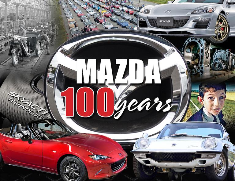 Mazda's 100th anniversary