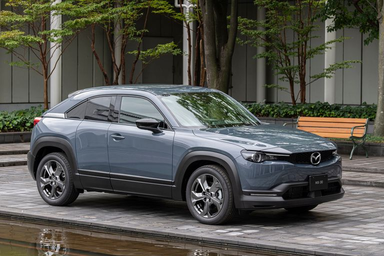 Mazda launches hybrid version of MX-30 in Japan