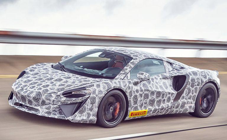 McLaren PHEV gets V-6 power