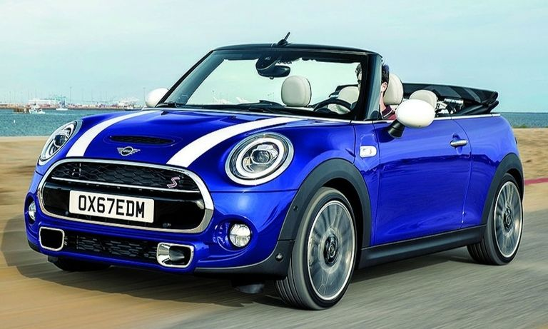 The Mini convertible debuted in the U.S. in 2005.