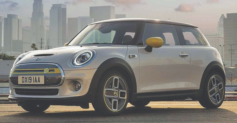 Due in March: Electric Mini Cooper SE