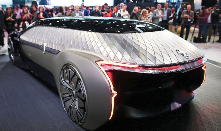 Renault's EZ-Ultimo is a luxury shuttle of the future