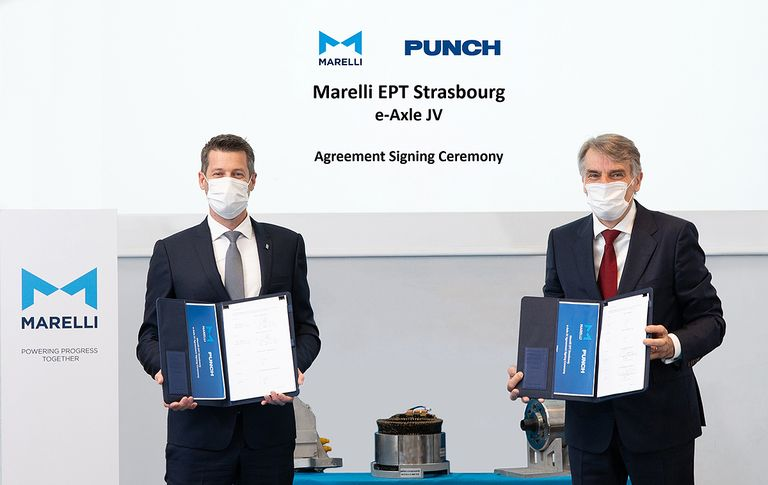 Marelli forms e-axle JV with supplier Punch