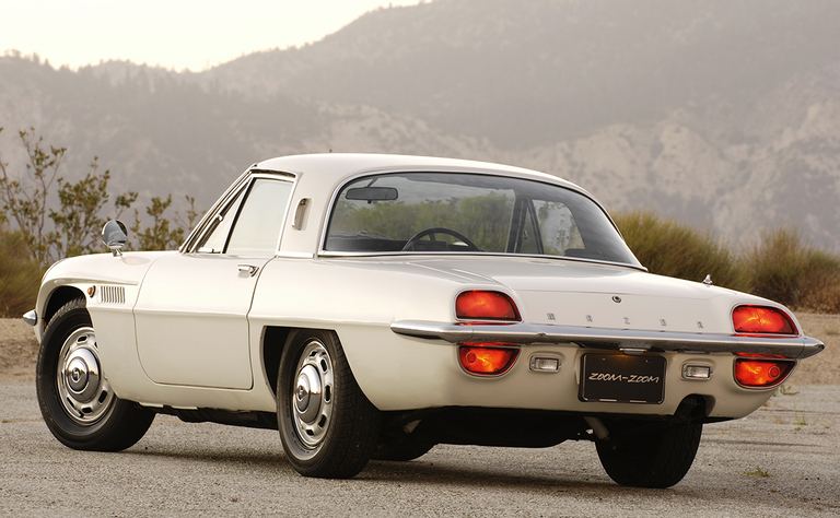 A collection of Mazda collectibles