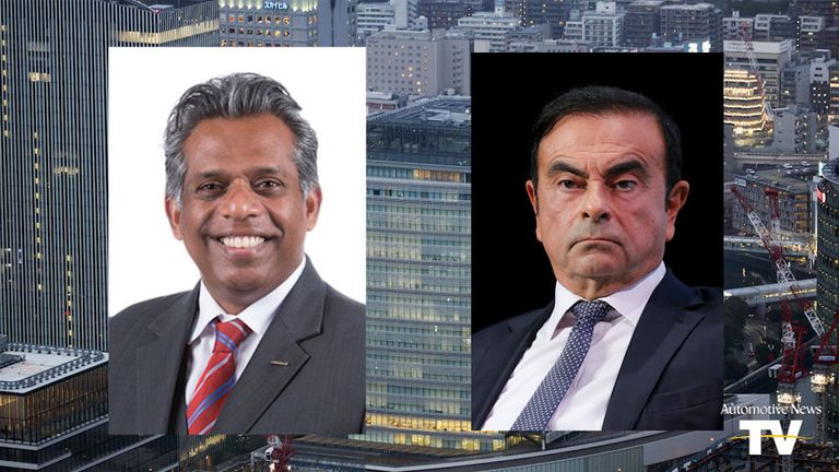 Hari Nada and Carlos Ghosn
