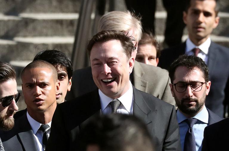 Smiling Musk