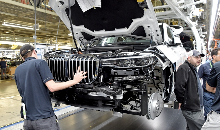 U.S. DOT grants will help BMW's S.C. plant, connected vehicles