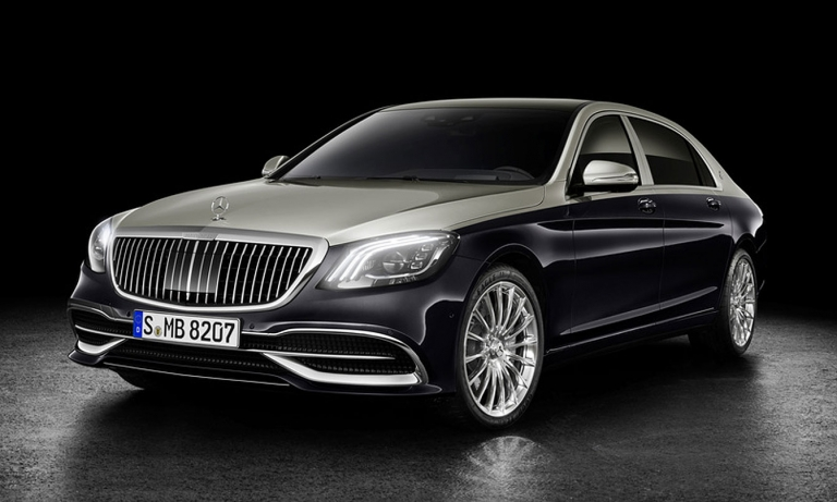 Mercedes updates Maybach with new grille for 2019