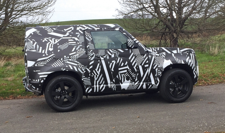 New Land Rover Defender may be produced in Slovakia
