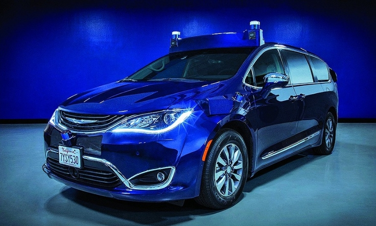 Aurora will use Chrysler Pacifica minivans for its on-road fleet.