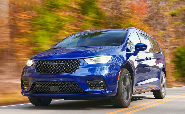 2021 Chrysler Pacifica: A day at the spa, no fuss