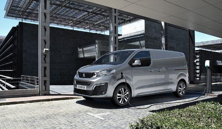 The Peugeot e-Expert light-commercial van