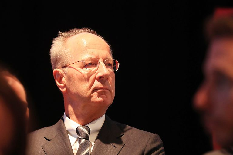 VW Chairman Hans Dieter Poetsch