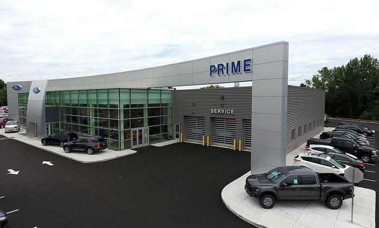 A Prime Automotive dealership