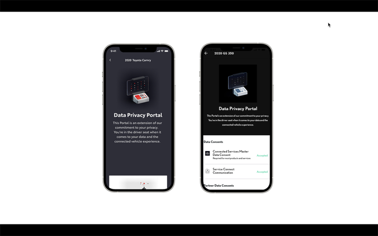 Toyota adds data privacy portal to Toyota and Lexus apps