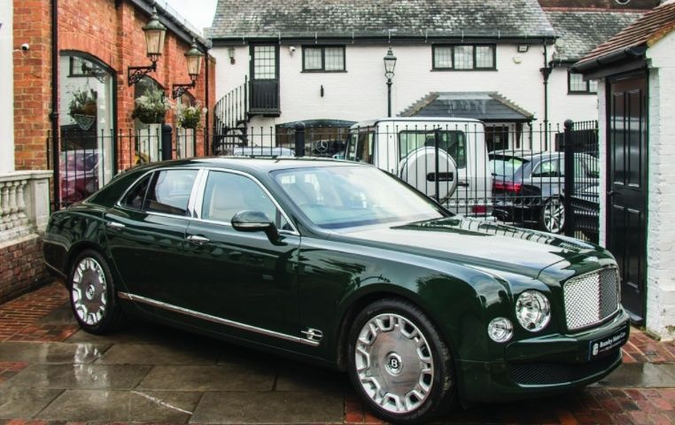 The queen's ride gets royal mark-up