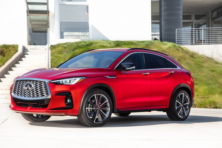 Infiniti revives sporty crossover coupe styling with QX55