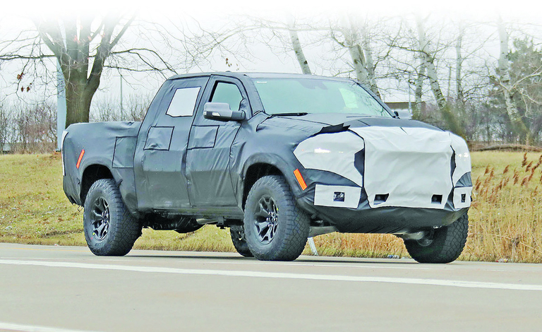 Ram Rebel TRX spy photo