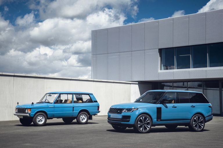 Range Rover gets 50th-anniversary edition