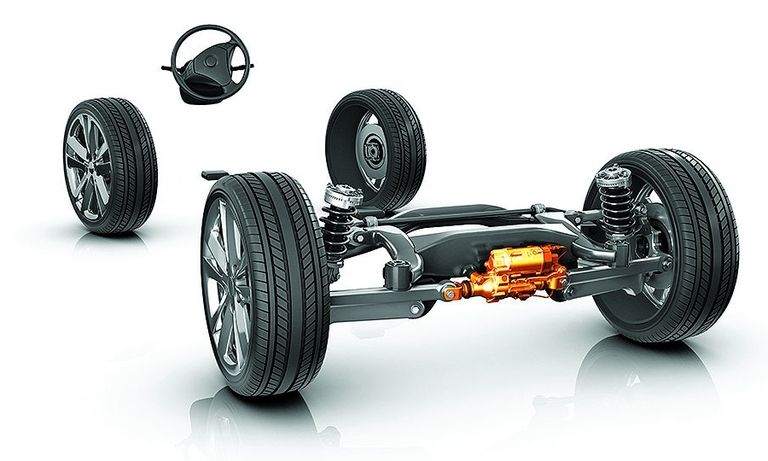 The AKC technology improves flexibility and driving dynamics.