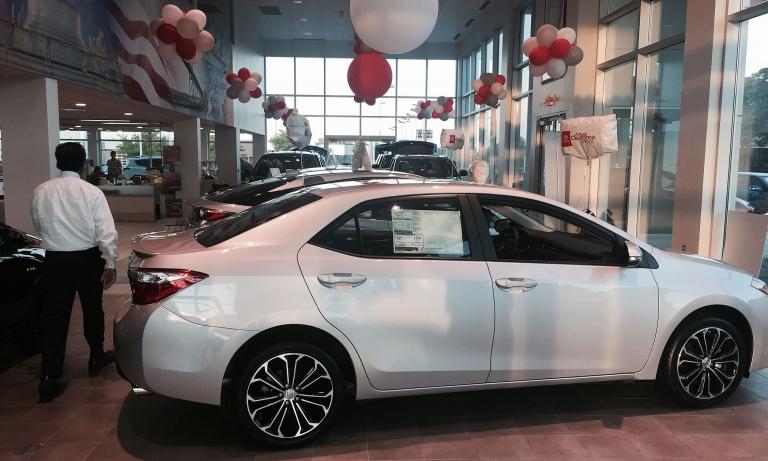 TOYOTA: Sales slide 5% on weak cars, pickups