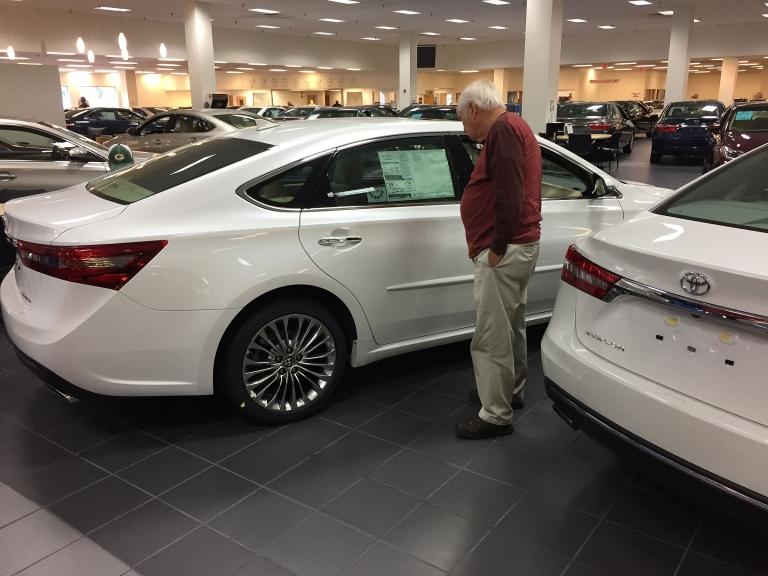 TOYOTA: Sales off 8.7%; Lexus trucks a bright spot