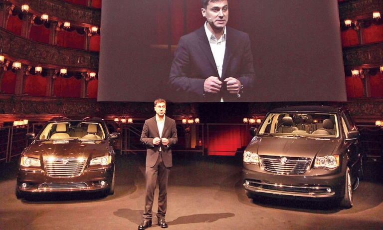 For Chrysler brand boss Chehab, it's all about good visuals