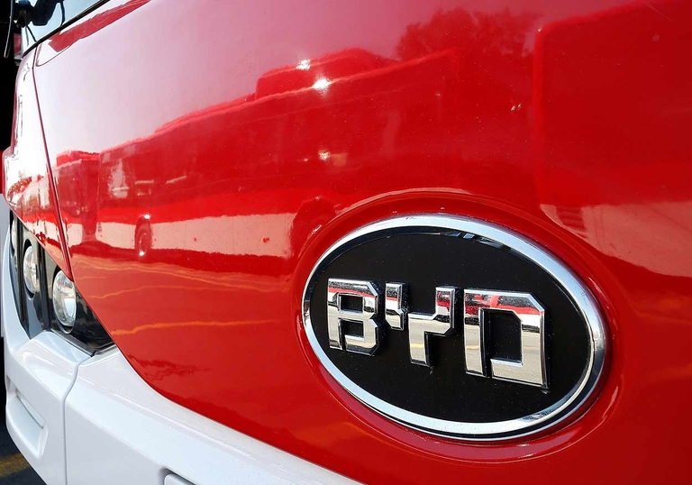 BYD, Toyota's Hino team up on electric commercial vehicles