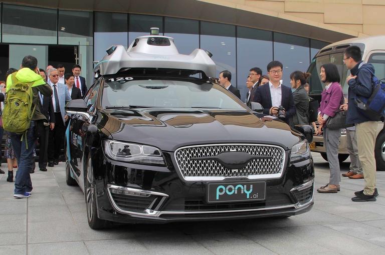 Toyota invests $400 million in Chinese AV startup Pony.ai