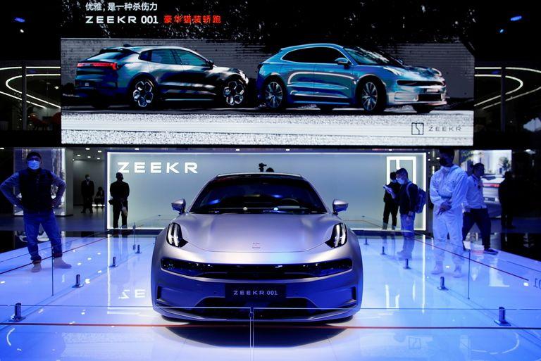 Zeekr 001 at Shanghai auto show