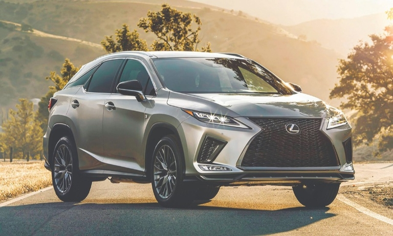 The Lexus RX hybrid is called a market leader.