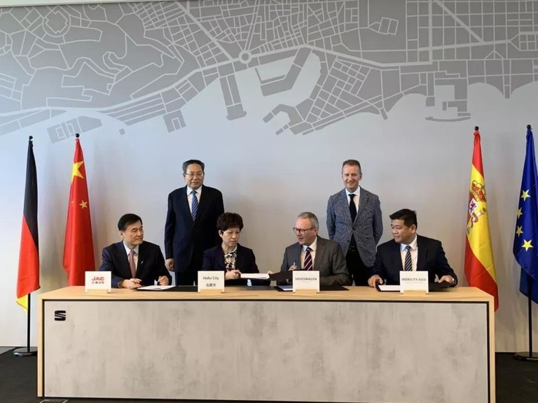 VW to introduce self-driving cars with JAC in Hefei