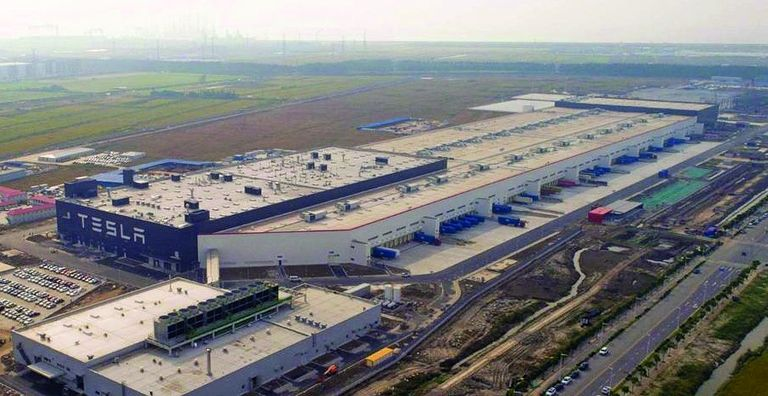 Tesla's plant in Shanghai went from site grading to production in 12 months.