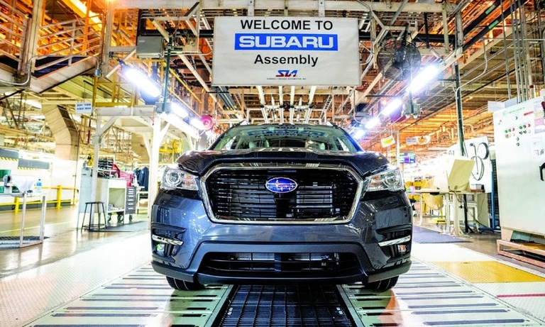 Subaru plans to invest $158 million to add transmission assembly to its Lafayette, Ind., plant that produces the Ascent.