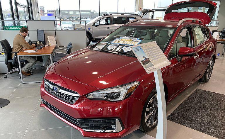 Subaru to switch to quarterly U.S. sales reports