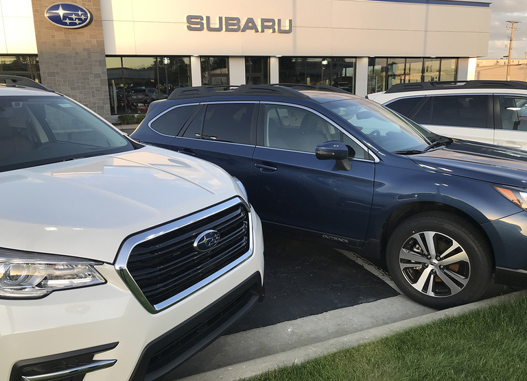 SUBARU: Another all-time high