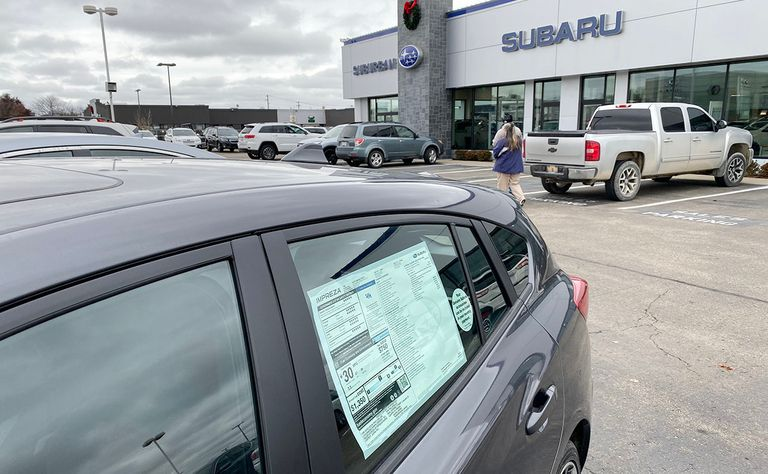 SUBARU: Dec., Q4 gains but 2 streaks end