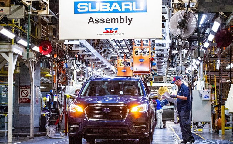 Subaru to invest $158 million in Indiana plant