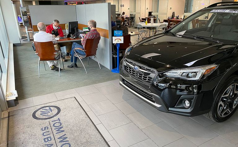 Subaru CEO: U.S. auto sales may take three years to recover from COVID-19