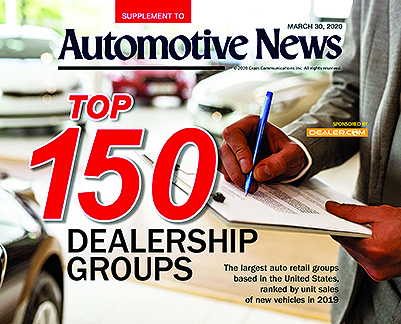 Here's our annual ranking of the largest U.S. dealership groups