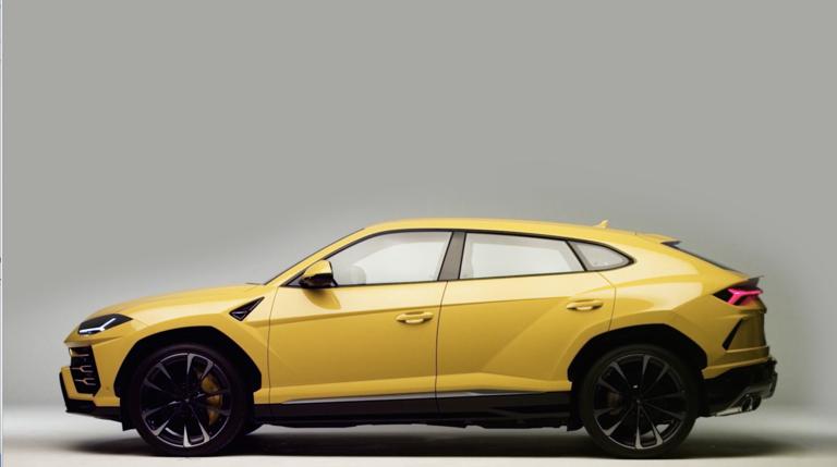 SUV driving Lamborghini sales