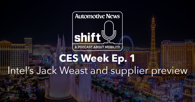 CES Week Ep. 1 | Intel's Jack Weast and supplier preview