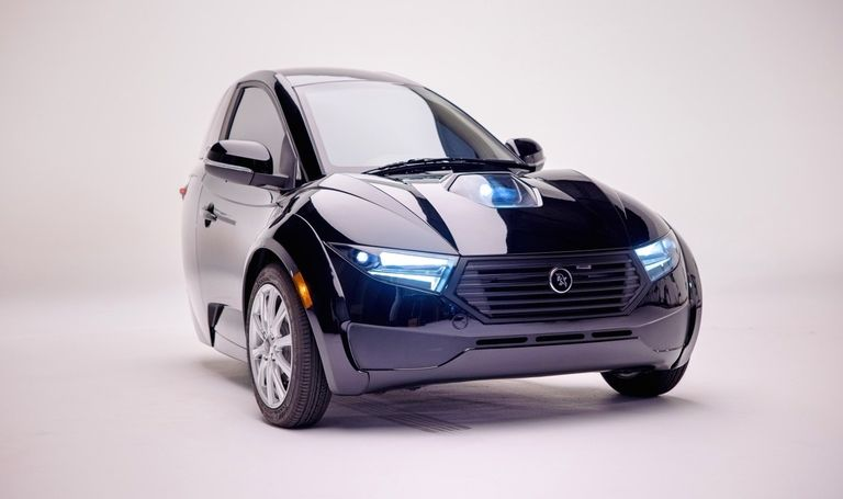 The ElectraMeccanica Solo electric vehicle