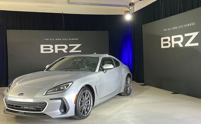 Subaru BRZ coupe gets more power, styling tweaks