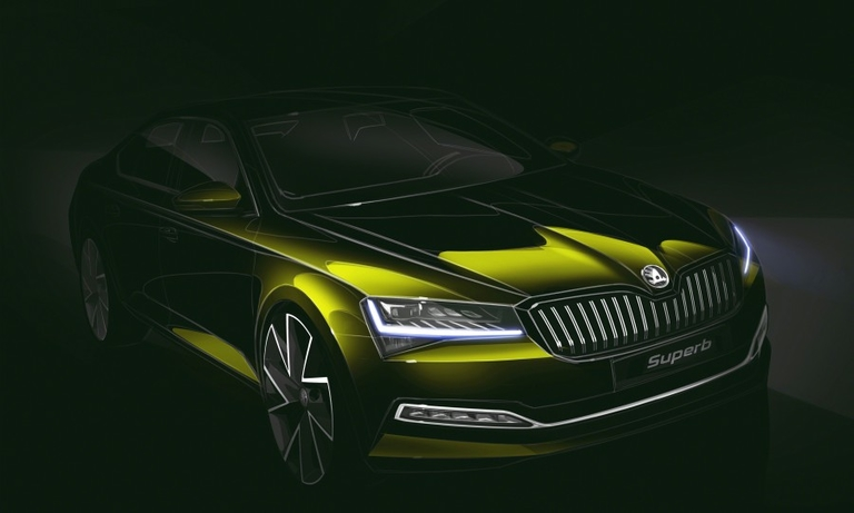 Skoda readies first plug-in hybrid with revised Superb